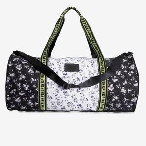 NEW Victoria secret pink floral duffle bag